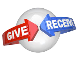 give to recieve